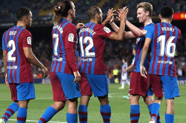 Barcelona beat Sociedad 4-2 in La Liga